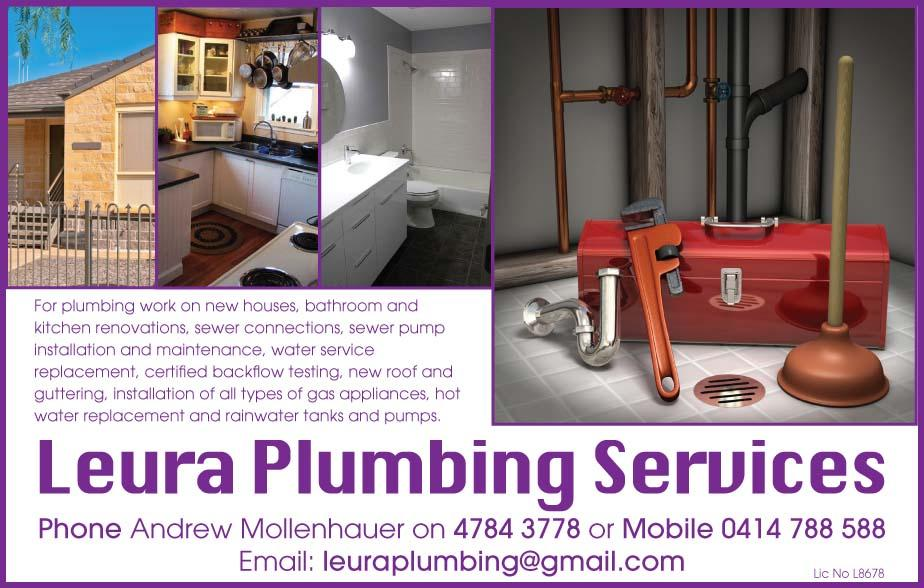 For a fast reliable plumber in the Blaxland, Springwood, Winmalee, Valley Heights, Hazelbrook, Lawson, Leura, Katoomba, Wentworth Falls, Yellow Rock, Warrimoo, Linden, Faulcon Bridge, Blue Mountains areas call Leura Plumbing services on 0414 788 588 for all of your plumbing needs