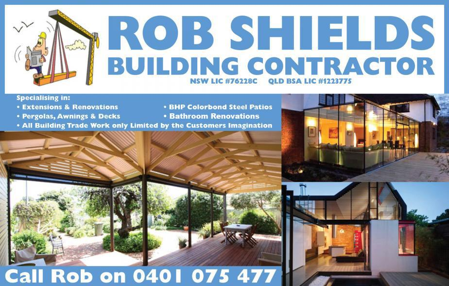 If your looking for a builder to attend to any of your building needs give the expert builder in the areas of Burleigh, Burleigh Heads, Burleigh Waters, Varsity Lakes, Robina, Mudgeeraba, Merrimac, Tallai, Worongary a call Rob Shields Building Contractor on 0401 075 477 for all of your building needs today