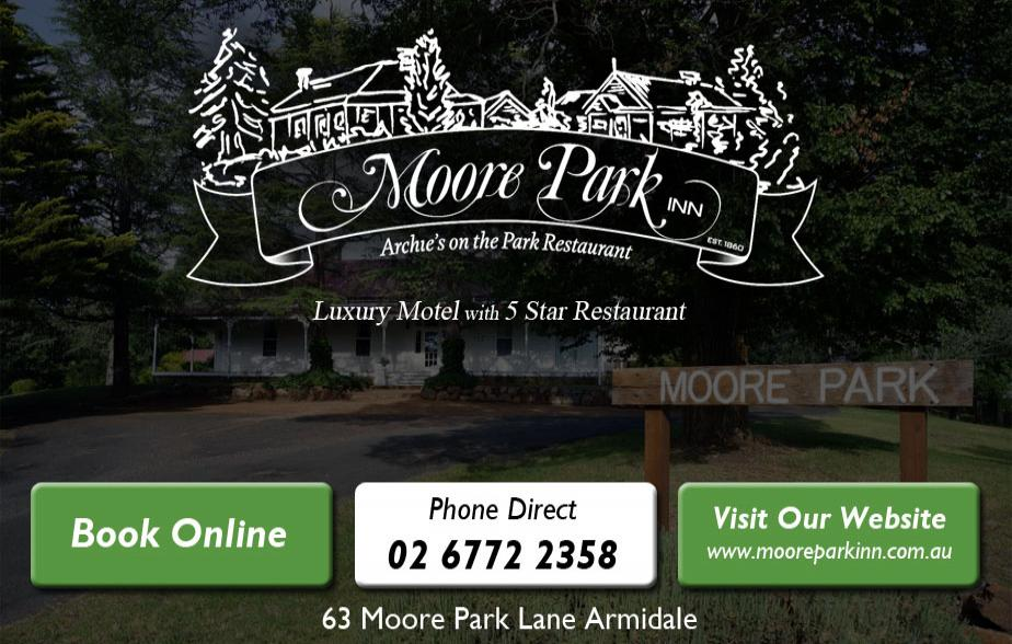 Moore Park Inn - 02 6772 2358  Accommodation - Armidale