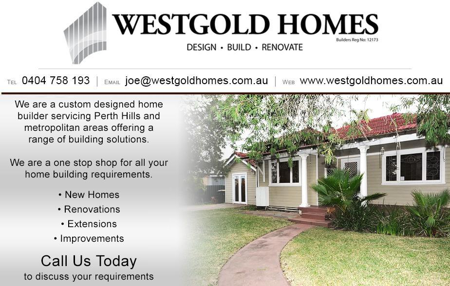Call WestGold Homes - 0404 758 193  Builder Ellenbrook, Herne Hill, Middle Swan, Bassendean, Beechboro, High Wycombe, Maida Vale, Midland, Woodbridge, Eden Hill, Noranda