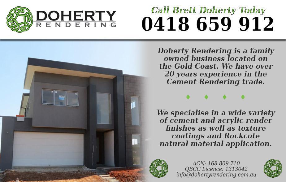 Doherty Rendering P/L- 0418 659 912  Rendering Gold Coast
