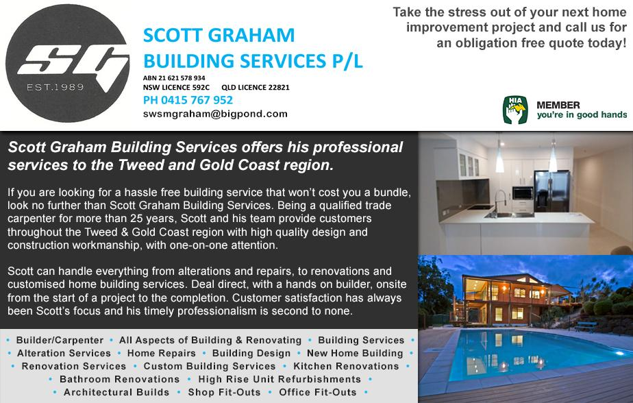 Scott Graham Building- 0415 767 952  Builder- Tweed Heads, Tweed Heads South, Banora Point, Terranora