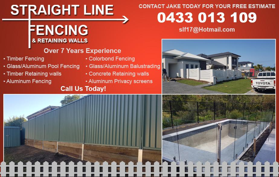 Stateline Fencing & Retaining Walls- 0433 013 109  Fencing- Wellington Point, Thorneside, Ormiston, Birkdale, Cleveland, Victoria Point, Redland Bay, Thornlands