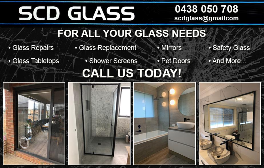 SCD Glass- 0438 050 708  Glass Repair- Wollert, Epping, Thomastown, Lalor, Mill Park, Bundoora, Watsonia North, Watsonia, Greensborough  Glass Replacement- Wollert, Epping, Thomastown, Lalor, Mill Park, Bundoora, Watsonia North, Watsonia, Greensborough  Glazier- Wollert, Epping, Thomastown, Lalor, Mill Park, Bundoora, Watsonia North, Watsonia, Greensborough