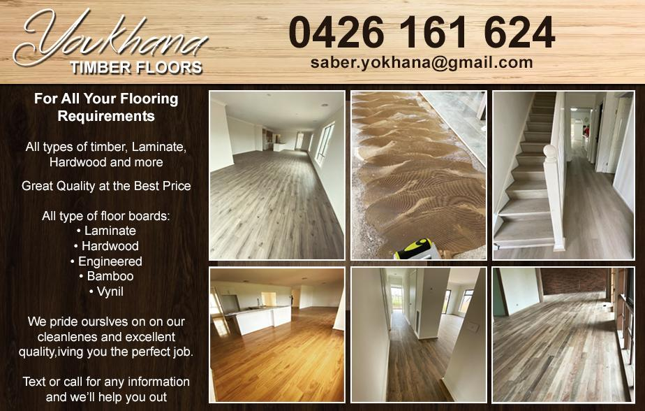 Youkhana Timber Floors- 0426 161 624  Floors- Coburg, Coburg North, Reservoir, Brunswick West, Preston, Thornbury, Northcote, Brunswick East, Brunswick, West Preston  Flooring- Coburg, Coburg North, Reservoir, Brunswick West, Preston, Thornbury, Northcote, Brunswick East, Brunswick, West Preston  Timber Floors- Coburg, Coburg North, Reservoir, Brunswick West, Preston, Thornbury, Northcote, Brunswick East, Brunswick, West Preston
